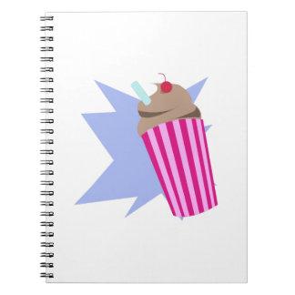 Milkshake Spiral Notebooks