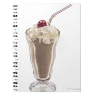 Milkshake Spiral Note Book