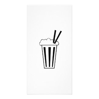 Milkshake Photo Greeting Card