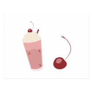 Milkshake Post Card