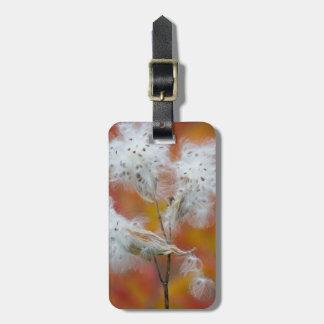 Milkweed seeds in autumn, Canada Luggage Tag
