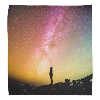 Milky Way Beautiful Colorful Nature Scenery Bandana