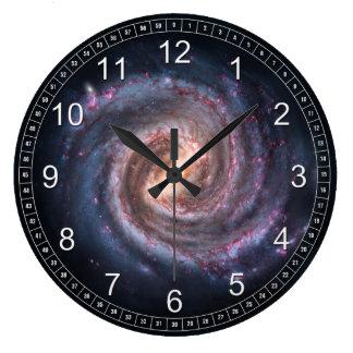 milky-way clock