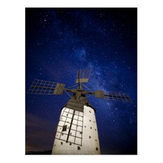 Milky Way from Fuerteventura Postcard