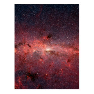 Milky Way Galactic Center, Stars, Clouds, Clusters Postcard