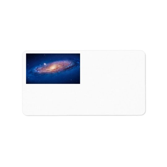 Milky Way Galaxy Address Labels by S. Ambrose