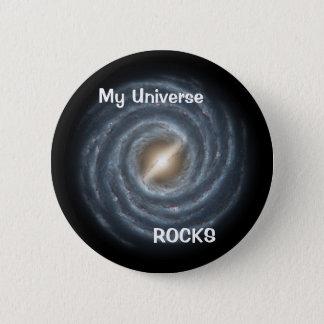 Milky Way Galaxy button pin