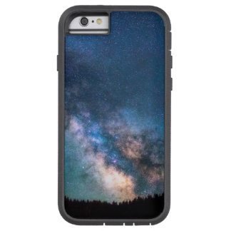 Milky Way Galaxy scenic view landscape with trees Tough Xtreme iPhone 6 Case