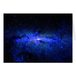 Milky Way Galaxy Space Photo Card