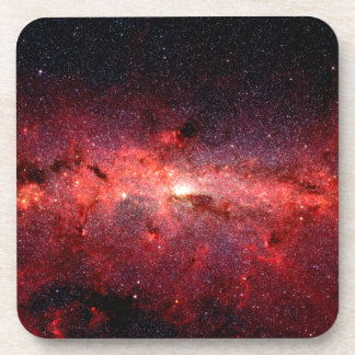 Milky Way Galaxy Space Photo Coaster