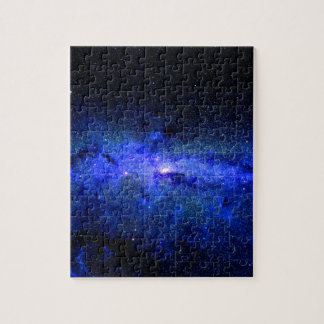 Milky Way Galaxy Space Photo Jigsaw Puzzle