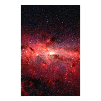 Milky Way Galaxy Space Photo Stationery