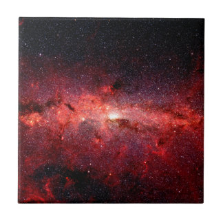 Milky Way Galaxy Space Photo Tile