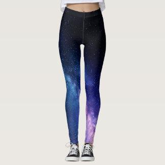 Milky Way Galaxy Star leggings