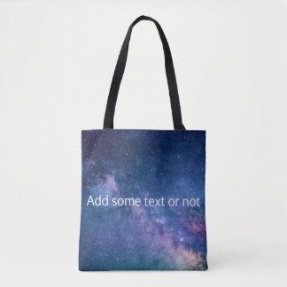 Milky Way Galaxy Tote Bag