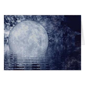 Milky Way Moonrise Card