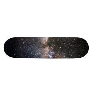 Milky Way Nebula Galaxy Universe Skateboard