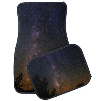 Milky Way night sky, California Car Liners