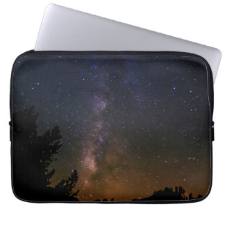 Milky Way night sky, California Laptop Computer Sleeves