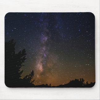 Milky Way night sky, California Mouse Pad