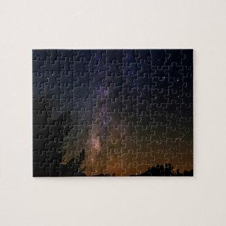 Milky Way night sky, California Puzzles