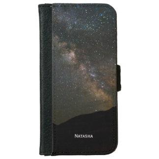 Milky Way Night Sky. Personalised. iPhone 6 Wallet Case