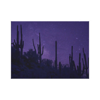 Milky Way over Marana Canvas Print