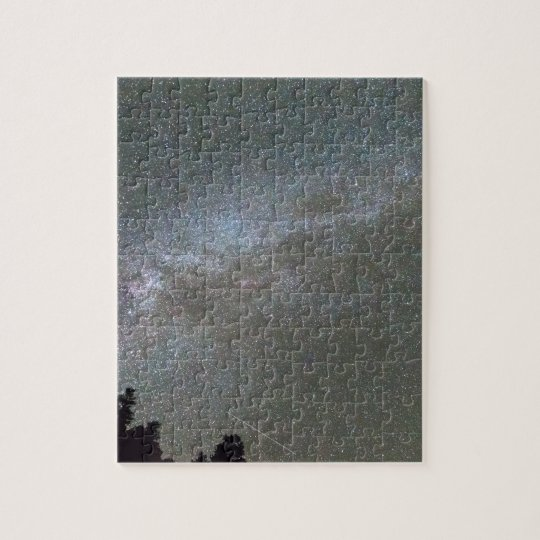 Milky Way Perseid Meteor Shower Jigsaw Puzzle