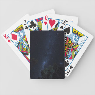 Milky Way Stars Bicycle Playing Cards