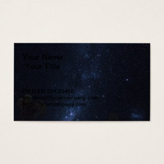 Milky Way Stars Business Card