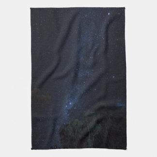 Milky Way Stars Kitchen Towel