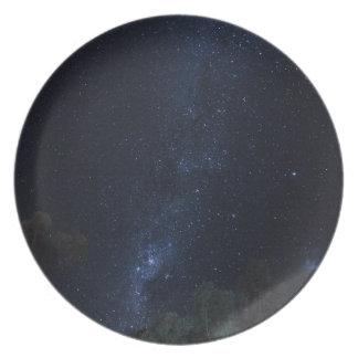 Milky Way Stars Plate