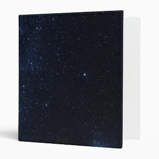 Milky Way Stars Vinyl Binder