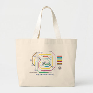 Milky Way Transity Authority Tote Bag