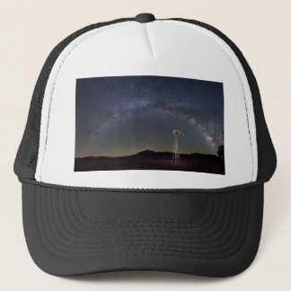 Milky Way Windmill Trucker Hat