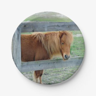 Mill Creek Pony 7 Inch Paper Plate