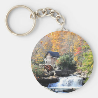 Mill in the woods keychain