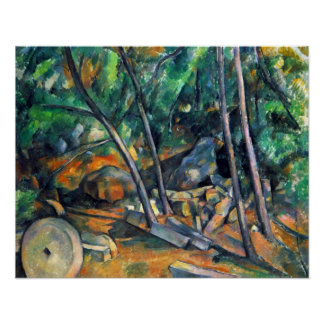 Mill Stone by Paul Cezanne Poster