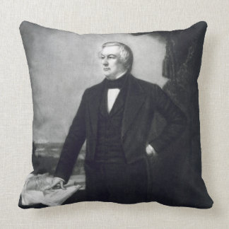 Millard Fillmore, 13th President of the United Sta Throw Pillow