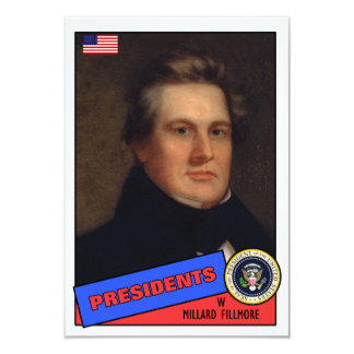 Millard Fillmore Baseball Card