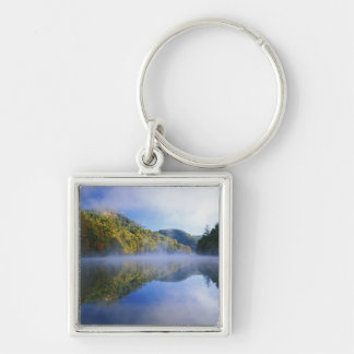 Millcreek Lake and autumn colors at sunrise, Key Chains