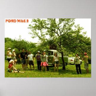 Mille 2 Woodstock d'étang Poster