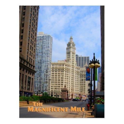 Mille magnifique - Chicago l'Illinois Cartes Postales