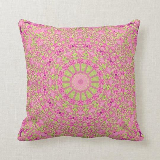 Millenial Pinks Kaleidoscope Pillow