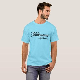 Millennial blue T-shirt