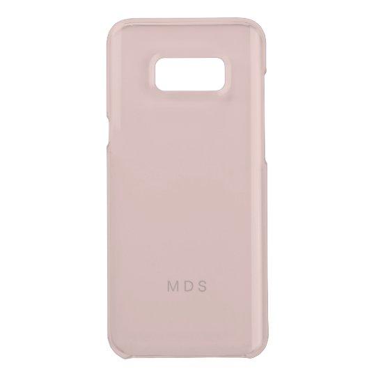 Millennial Pink Rose Samsung Galaxy S8 Plus Case
