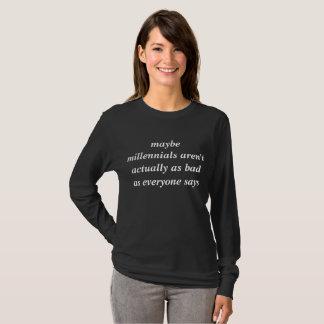millennial support shirt