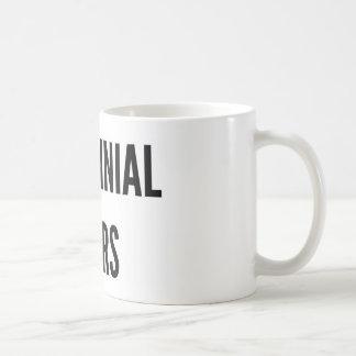 Millennial tears funny Christmas mug