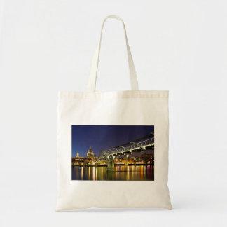 Millennium Bridge Budget Tote Bag