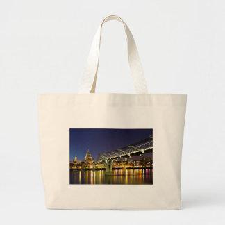 Millennium Bridge Jumbo Tote Bag
